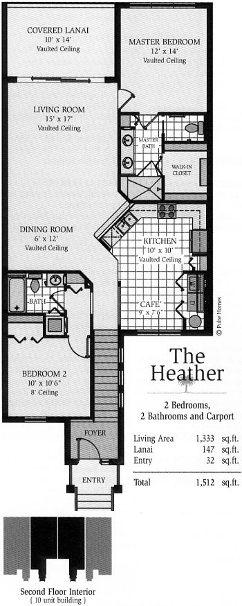 colonial country club floor plans