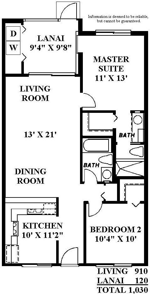 Country Club Village Interior Model B