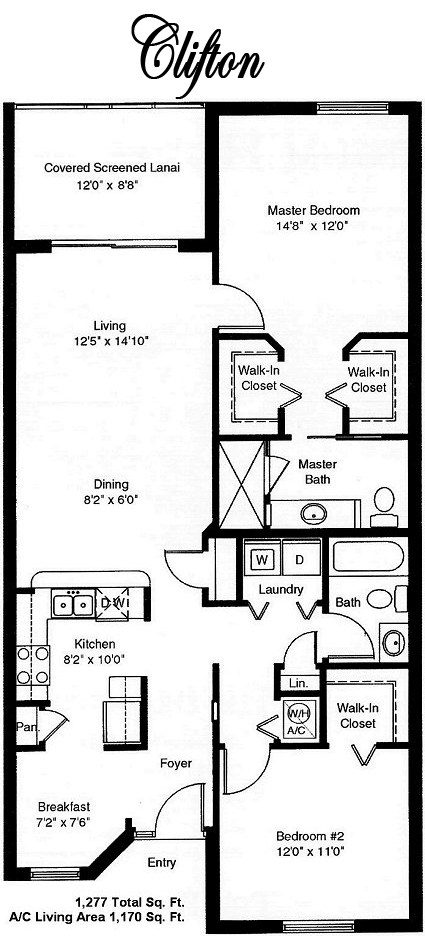Legends Country Club Floor Plans