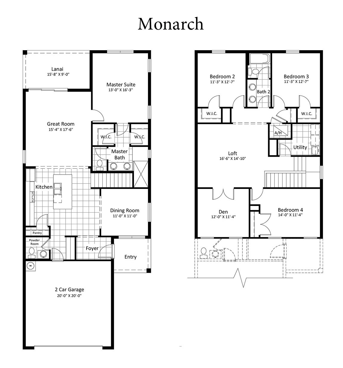 Monarch Homes Floor Plans Choice Image Home Fixtures