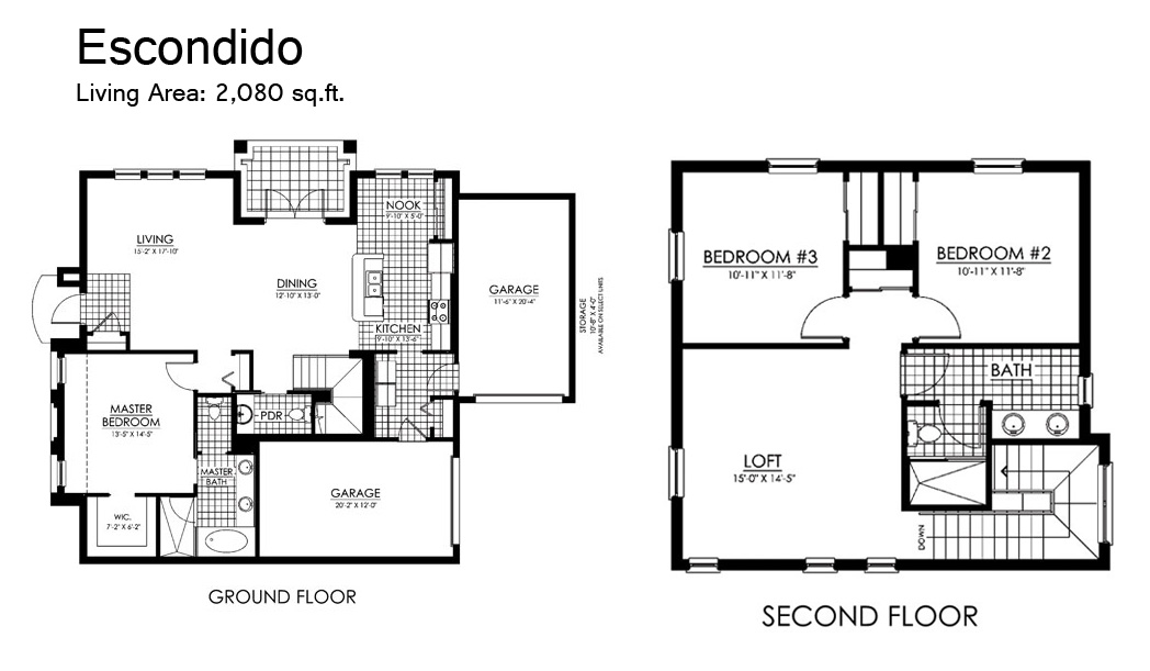 Paseo Floor Plans