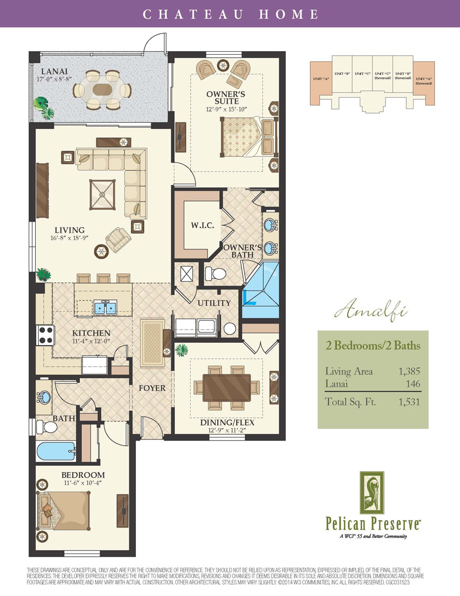 Pelican Preserve Floor Plans