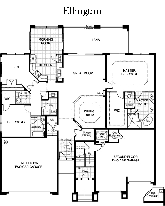 The Plantation Floor Plans