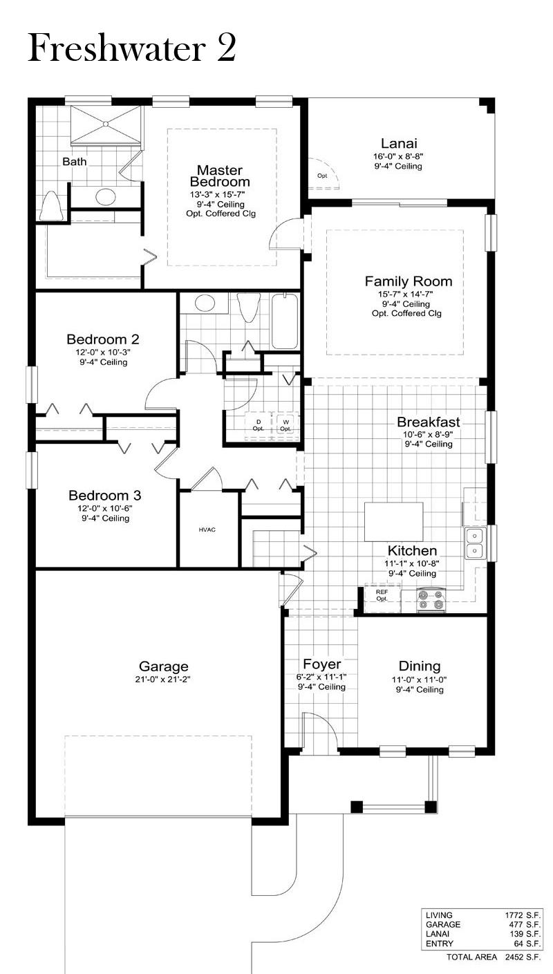 Watermark Floor Plan | Lime Amp Mortar Floor Plan